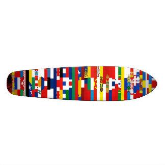 Europäer kennzeichnet Skateboard Bedrucktes Skateboard