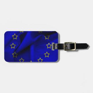 Europaflagge Gepäckanhänger