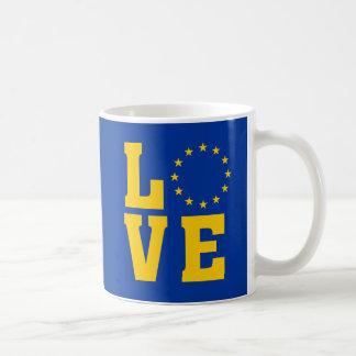 Europäische Gewerkschaft LIEBE-Tasse Kaffeetasse