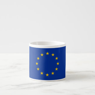 Europäische Gewerkschafts-Flagge Espressotasse