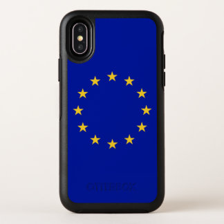Europäische Gewerkschafts-Flagge OtterBox Symmetry iPhone X Hülle