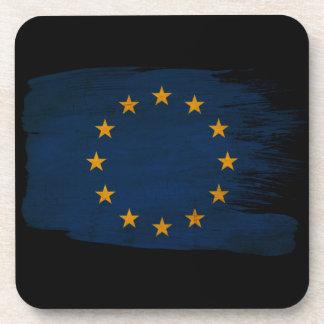 Europäische Gewerkschafts-Flagge Untersetzer