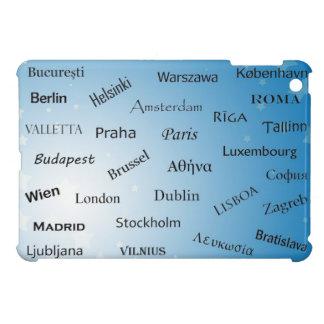Europäische Gewerkschafts-Hauptstädte iPad Mini Hülle