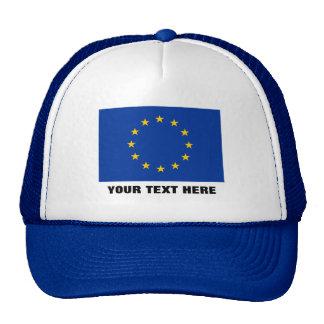 Europäische Gewerkschaftshut | blaue EU Europa Mütze