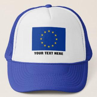 Europäische Gewerkschaftshut | blaue EU Europa Truckerkappe