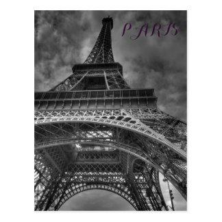 Europäische Reise schwarzer u. weißer Postkarten