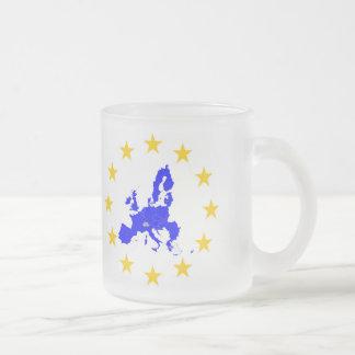 Europäische Union Mattglastasse