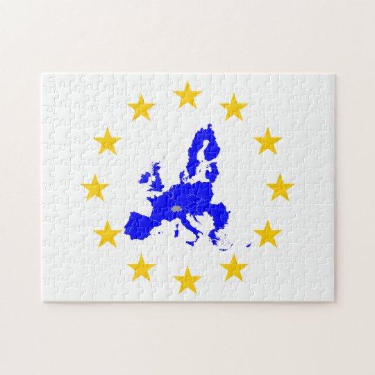 Europäische Union Puzzle