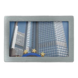 Europäische Zentralbankin Frankfurt am Main Rechteckige Gürtelschnalle