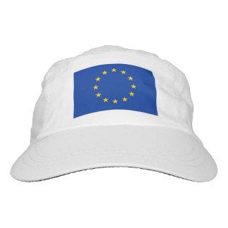 Europäischer Gewerkschaftsflaggen-Strick und Headsweats Kappe