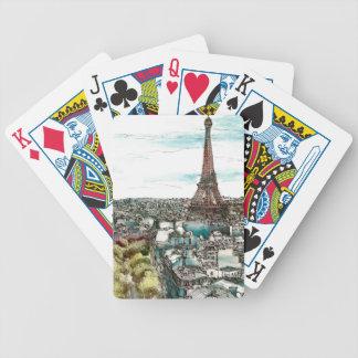 Europäischer Nachmittag I Bicycle Spielkarten