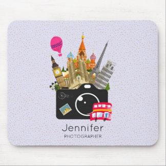 Europäischer Sehenswürdigkeit-Reise-Fotograf Mousepad