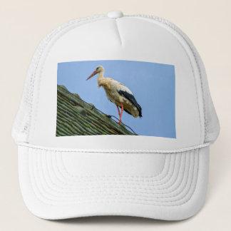 Europäischer weißer Storch, Ciconia Truckerkappe