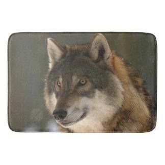 Europäischer Wolf Badematte