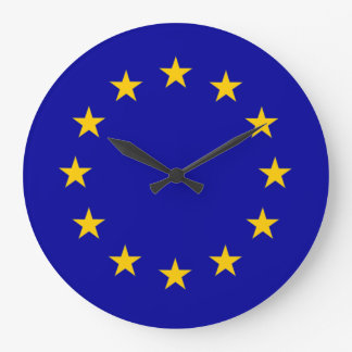 Europäisches Gewerkschaftsblau E. - mit Wanduhren