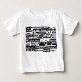 Europäisches Reisend-Shirt - wählen Sie Art u. Baby T-shirt