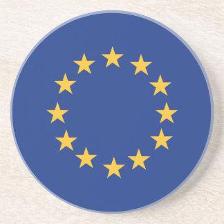 Europeanunion Flagge Getränkeuntersetzer
