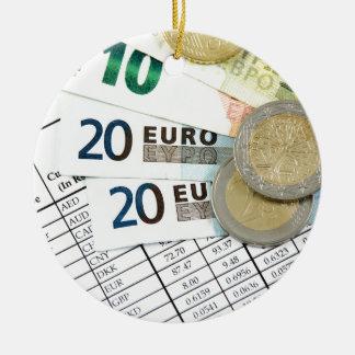 Euros Keramik Ornament