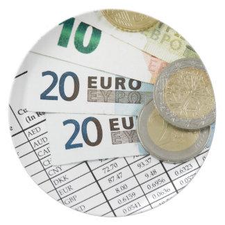 Euros Melaminteller