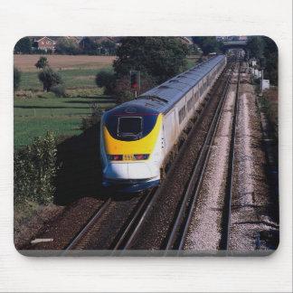 Eurostar-Personenzug Mousepads