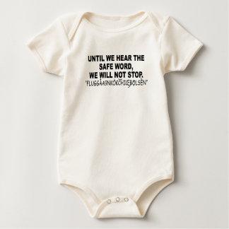 Eurotrip sicheres Wort shirt.png Baby Strampler