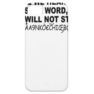 Eurotrip sicheres Wort shirt.png iPhone 5 Case