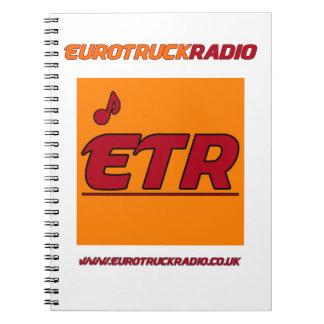 EuroTruckRadio - Notizbuch Notizblock