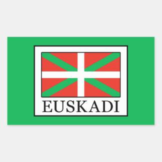 Euskadi Rechteckiger Aufkleber