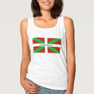 Euskal Herria auf baskischem Flaggen-Shirt Tank Top