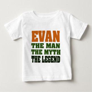 Evan - der Mann, der Mythos, die Legende! Baby T-shirt
