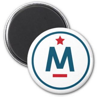 Evan McMullin - es ist nie zu spät Runder Magnet 5,1 Cm