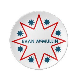 Evan McMullin Porzellanteller