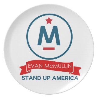 Evan McMullin - stehen Sie oben Amerika! Teller