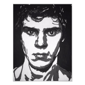 Evan Peters Fotodruck