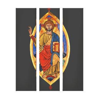 Evangelistar von Speyer Leinwanddruck