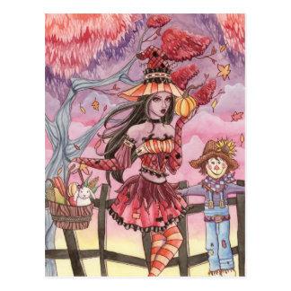 Evania - Hexe-Postkarte Postkarte