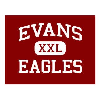 Evans - Eagles - Jüngeres - Lubbock Texas Postkarte