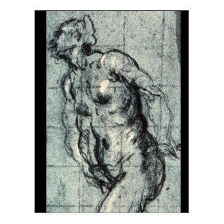 Eve', Jacopo Tintoretto_Studies der Meister Postkarte