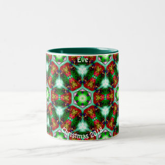 EVE ~ personalisierte Muscheln für Zweifarbige Tasse