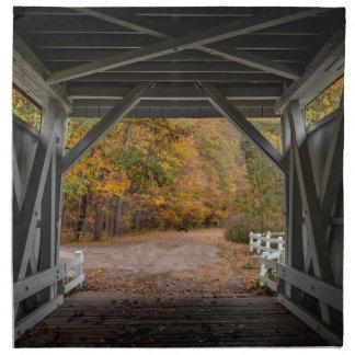Everatt Straßen-überdachte Brücke Stoffserviette