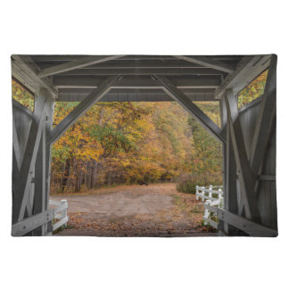 Everatt Straßen-überdachte Brücke Tischset