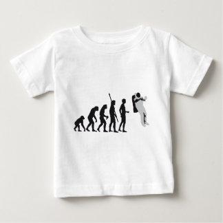 evolution astronaut baby t-shirt