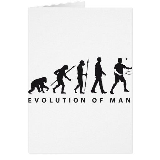evolution badminton karten