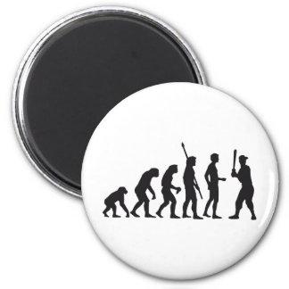 evolution baseball runder magnet 5,1 cm