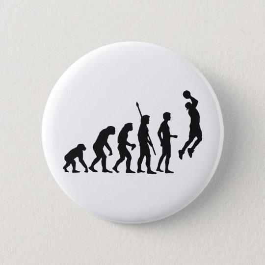 evolution basketball runder button 5,7 cm