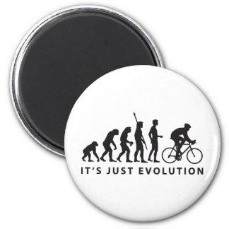 evolution bicycle runder magnet 5,1 cm