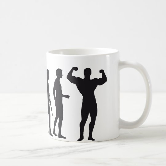 evolution bodybuilding kaffeetasse