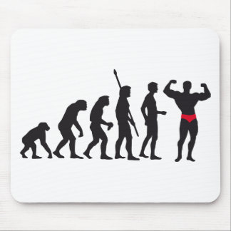 evolution bodybuilding mousepad