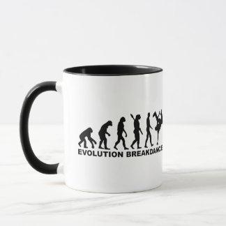 Evolution Breakdance Tasse
