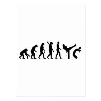 Evolution Capoeira Postkarte